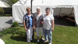 vl. Irmgard Schuch, Elli Schneider und Sigrid Engel