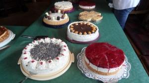 Die große Kuchenauswahl