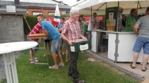 4. Platz Rudi Weber. Rollbraten und Kiste Bier