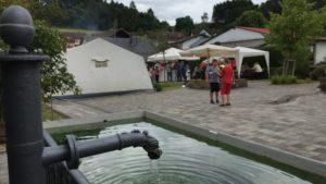 Brunnenfest in Schmißberg: Das Highlight kommt näher
